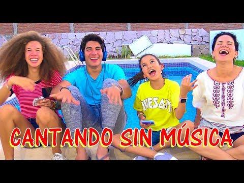 CANTANDO SIN MÚSICA ! | TV ANA EMILIA