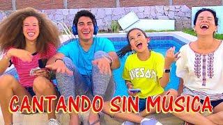 CANTANDO SIN MÚSICA !   TV ANA EMILIA