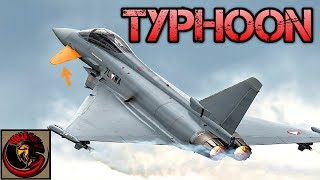 Eurofighter Typhoon Combat Fighter Jet - Europe's 4th Generation Fighter