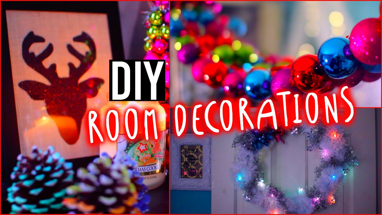 Christmas Room Decor Ideas Tumblr