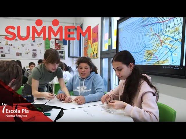 Com treballem amb el projecte SUMMEM a Escola Pia Nostra Senyora