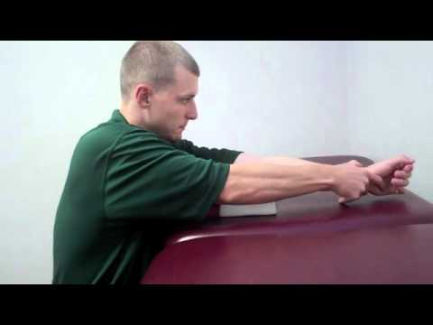 Elbow Extension Stretch - HPT Huntington Physical Therapy 25703