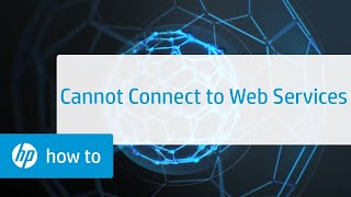Cannot Connect to Web Services | HP Applications | @HPSupport screenshot 3