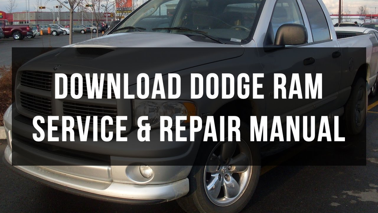 download dodge ram service and repair manual free youtube rh youtube com Ram Logo Dodge Dodge Ram Emblem