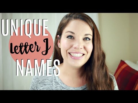 UNIQUE LETTER J BABY NAMES!! | Meanings & US Ranking