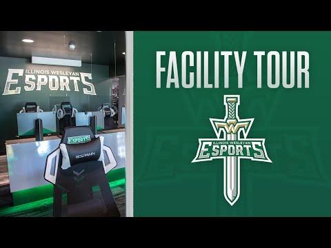 Illinois Wesleyan University Esports Facility Unveiling