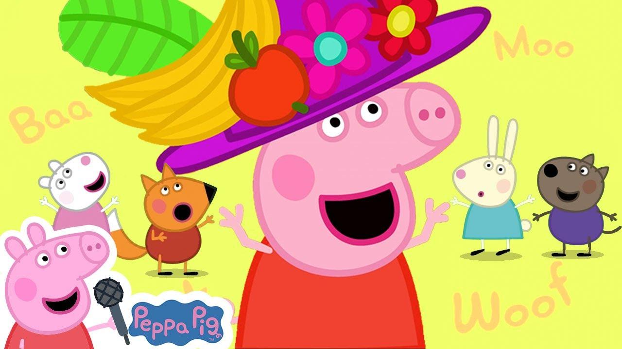 Peppa Pig Animal Song | Peppa Pig Songs | Peppa Pig Nursery Rhymes & Kids Songs