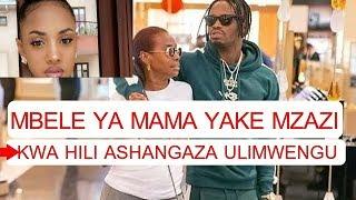 KIMENUKA! alichofanya DIAMOND Kwa Tanasha Mbele Ya Mama Yake  Ni AJABU