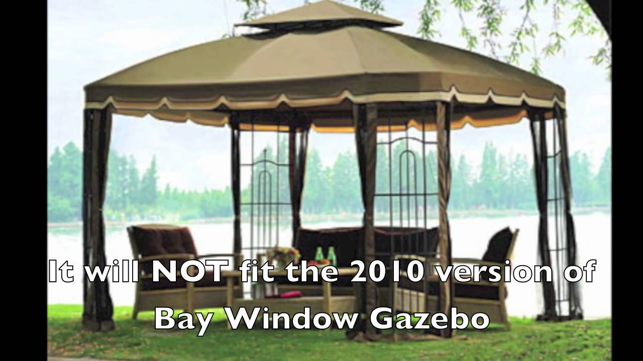 Replacement Canopy For 2008 2009 Big Lots Bay Window Gazebo