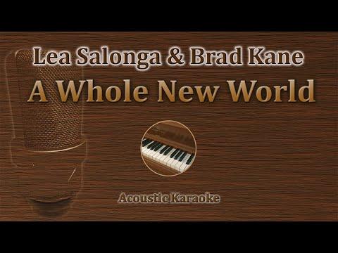 A whole New World - Lea Salonga, Brad Kane (Acoustic Karaoke) Disney's Alladin