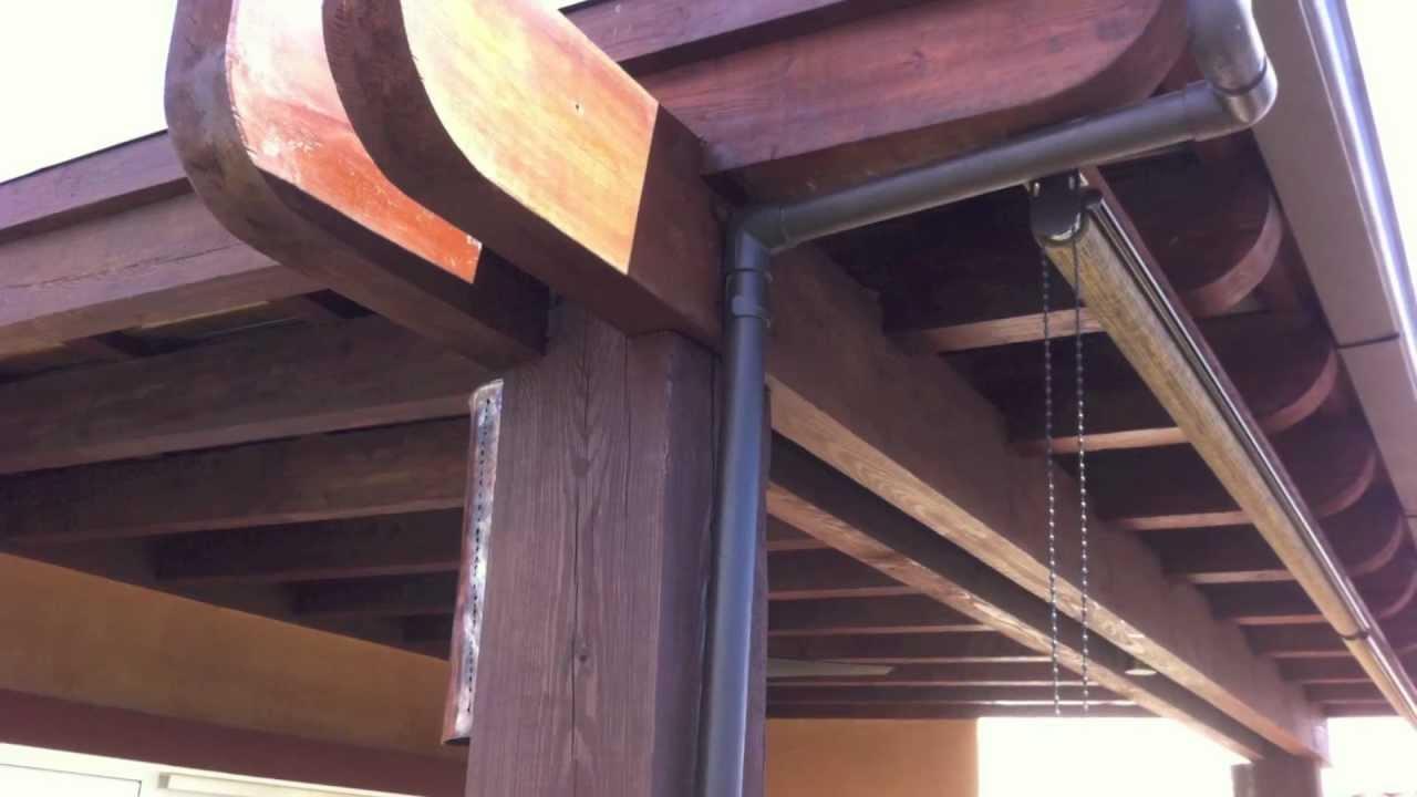 Barbacoasluna com 1 terrazas y pergolas - Pergolas rusticas de madera ...