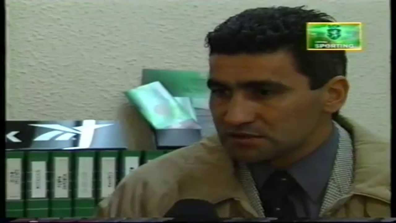 Entrevista a Alberto Acosta (Sporting) em 17/12/1998