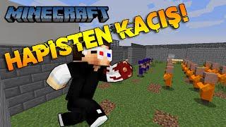 Minecraft HAPİSHANEYE TIKTILAR BENİ HAPİSTEN KAÇIŞ 2