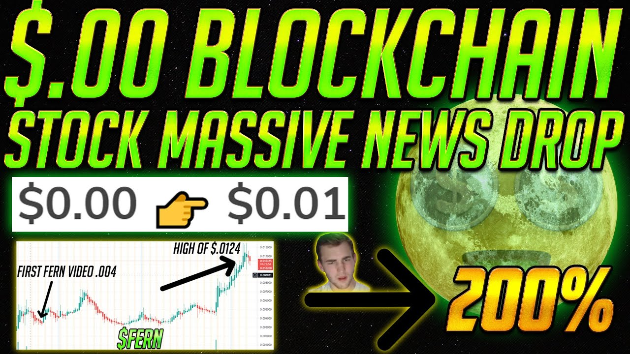 THIS $0.00 Block Chain Penny Stock to $0.01! 200% Gains 😱 Crypto Acquisition - NEW SEC SHORTING RULE