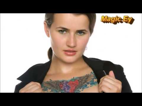 Horror Tattoo 64 Ravishing Tattoos For Women and girls on Chest