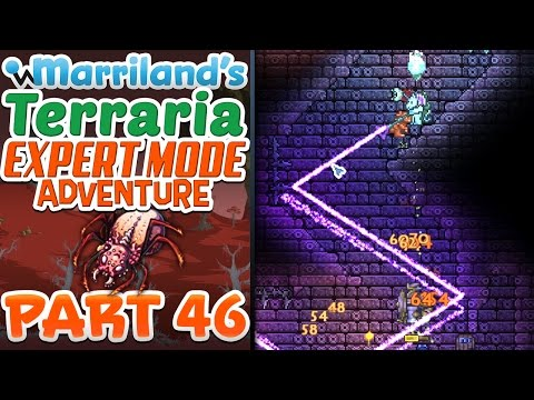 Terraria 1.3.3 (PC) Expert Mode, Part 46: Trick-or-Treating in the Dungeon! - 동영상