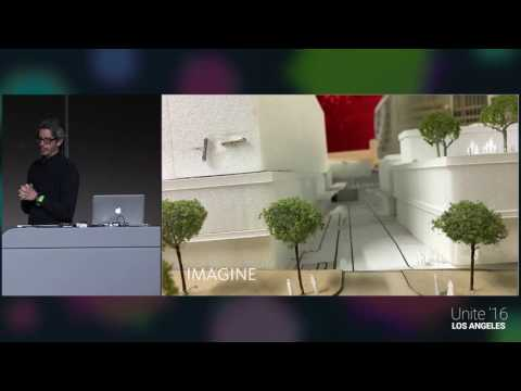 Unite 2016 - 3D Game Programmers Meet Real-World Architects for VR/AR