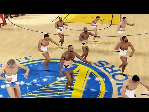 This NBA 2K16 Mod of Stephen Curry, LeBron James as Cheerleaders Will Haunt & Delight You