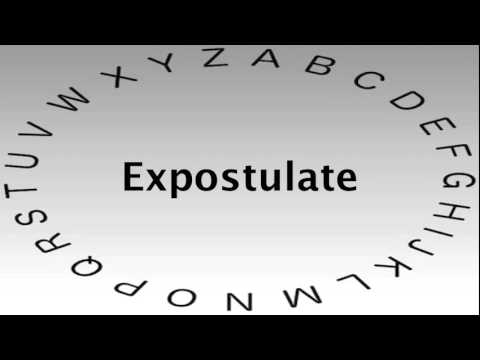 Amazing SAT Vocabulary Words And Definitions U2014 Expostulate