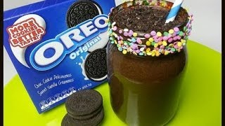 How To Make An Oreo Ice Cream Sandwich Milkshake