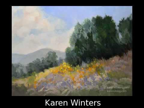 New original artwork paintings from the Daily Painters Gallery artists