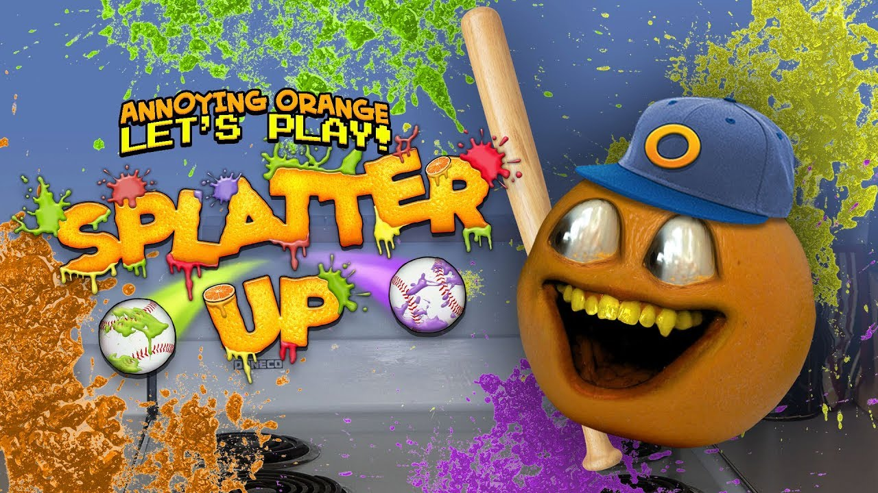 Splatter Up Annoying Orange Updated For New Devices