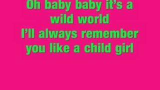 Skins - Wild World Lyrics