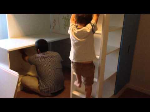 IKEA loft bed Stuva