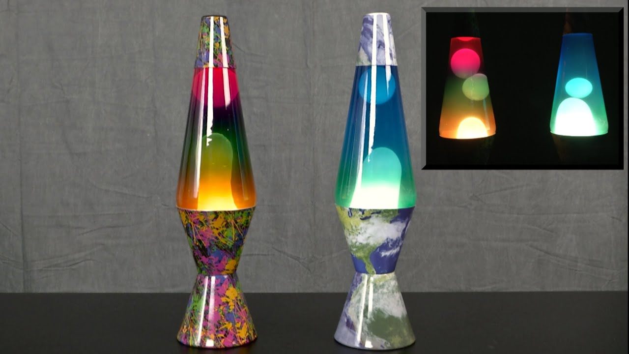 Colormax Lava Lamps from Lava Lite - YouTube