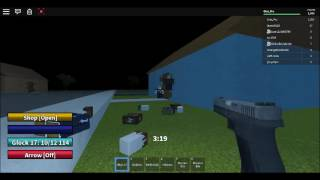 Playing Roblox Map Left 4 Survivall [Omi Pro]