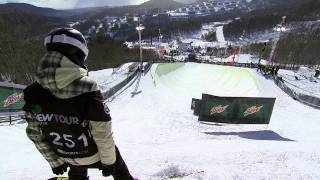 Kelly Clark No Excuses: Overcoming Adversity to Win the 2010-11 Dew Cup