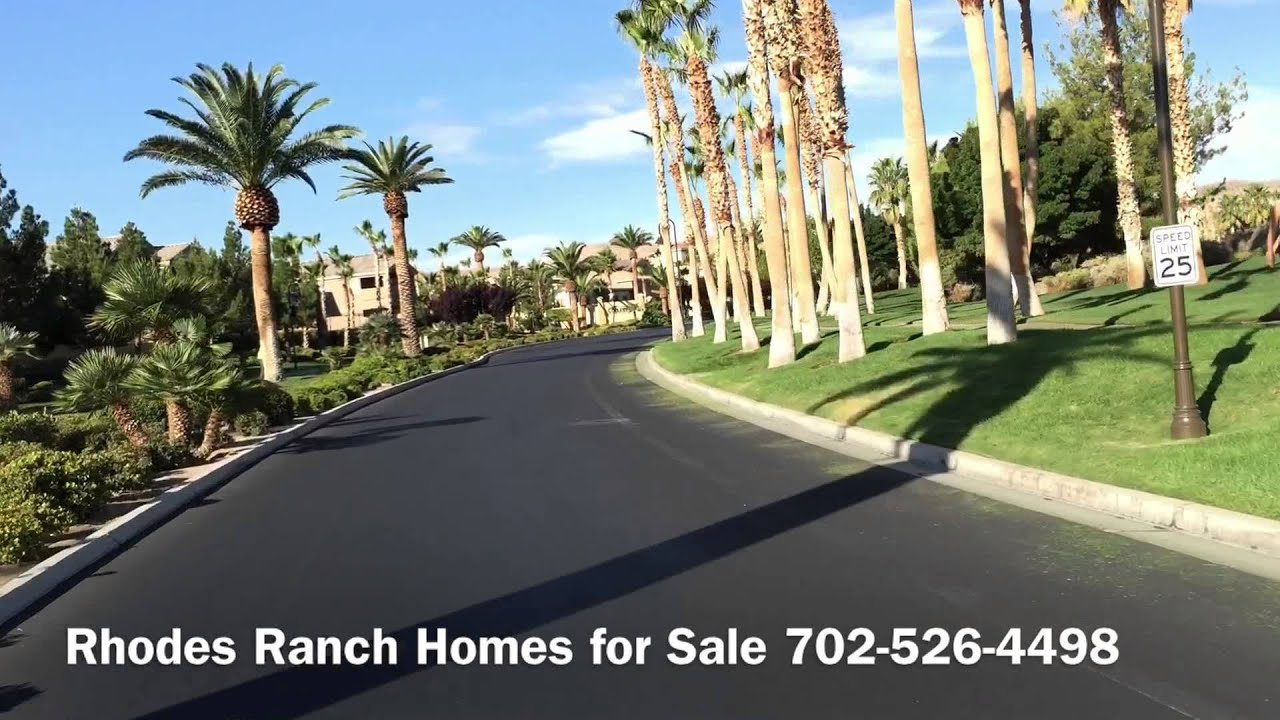 rhodes ranch homes for sale golf course community youtube