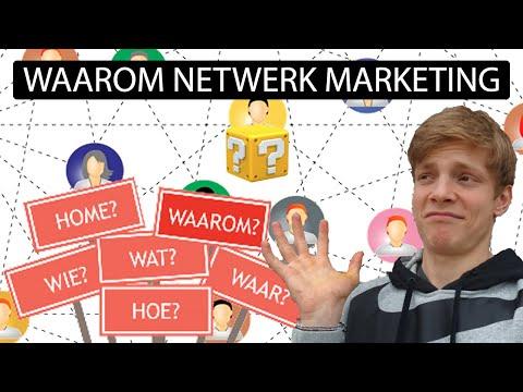 WAAROM NETWERK MARKETING ?