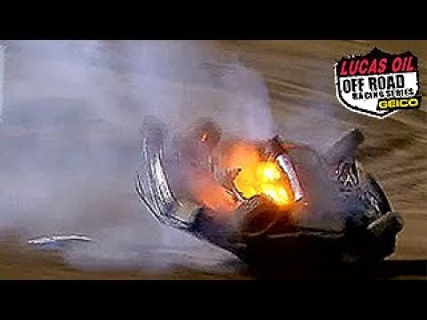 Worst Short Course Truck Crashes of 2014 - Lucas Oil Offroad Racing Series Crash Compilation |