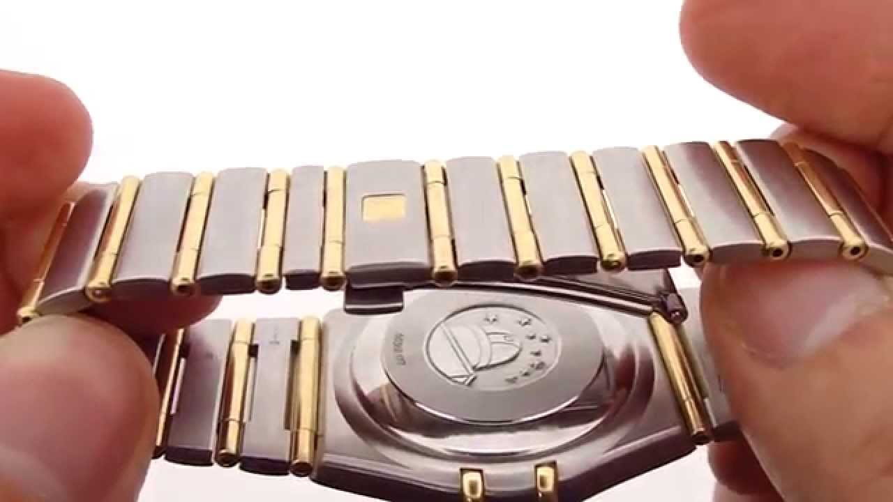 Omega Constellation Automatic Chronometer Luxury Watch Hd