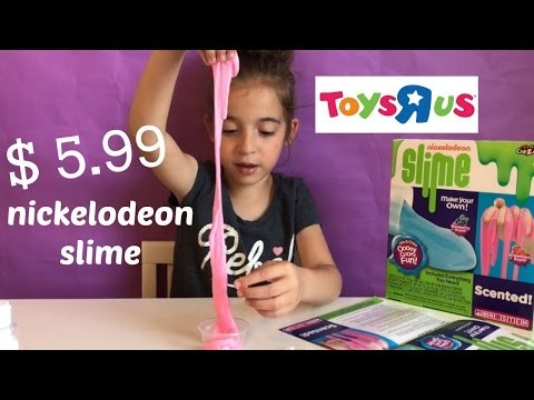 Nickelodeon Slime DIY Kit Scented (Easy Slime) $5 - Toys R Us