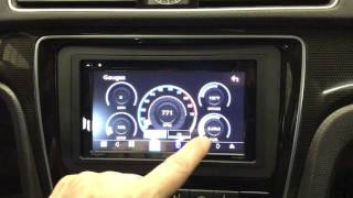 JVC KW-V830BT Apple CarPlay and Android Auto headunit in a 2015 VW Passat