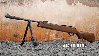 Carabina de Pressão Hatsan HT 95 Madeira 5.5mm - Teste de Carabina Ventureshop