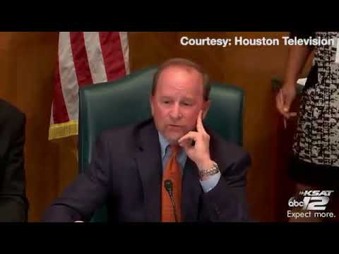 A Houston city councilman had strong words about the Red Cross