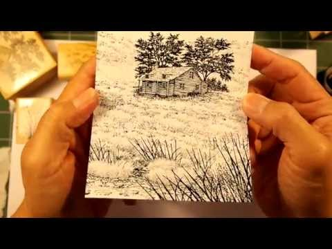 Stampscapes 101: Video 106.  Grass Textures.