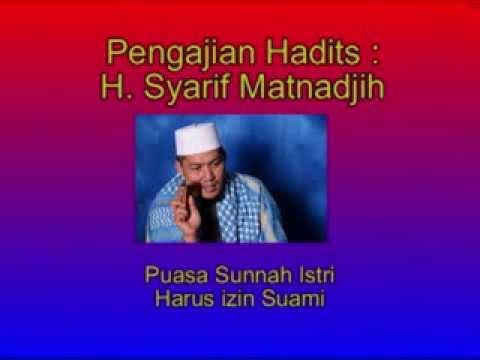 h syarif matnadjih puasa sunnah istri harus izin suami youtube