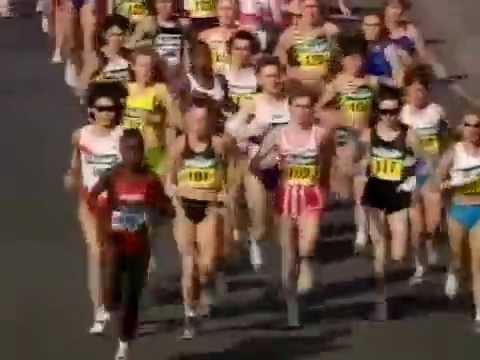 1997 London Marathon Full Race pt1of2