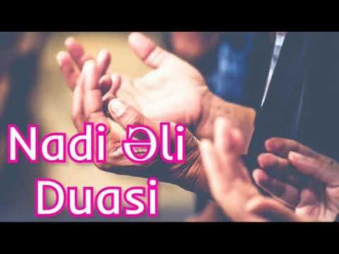 Nadi əli Duasi Hacətlərin Duasi 2019 Youtube
