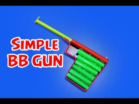 How to make a Simple Paper BB Pistol/Gun(Haenel 100)| Easy Tutorial