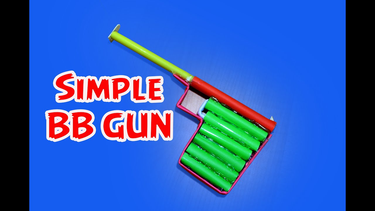 How to make a Simple Paper BB Pistol/Gun(Haenel 100)| Easy ... - photo#8