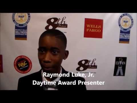 The 24th Annual NAACP Theatre Awards: Raymond Luke, Jr. on Red Carpet