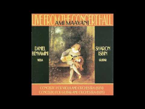 A. Maayani - Concerto for Guitar and Orchestra (1976)