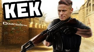 КЕК Юнайтед  Неймар играет в  Counter Strike !