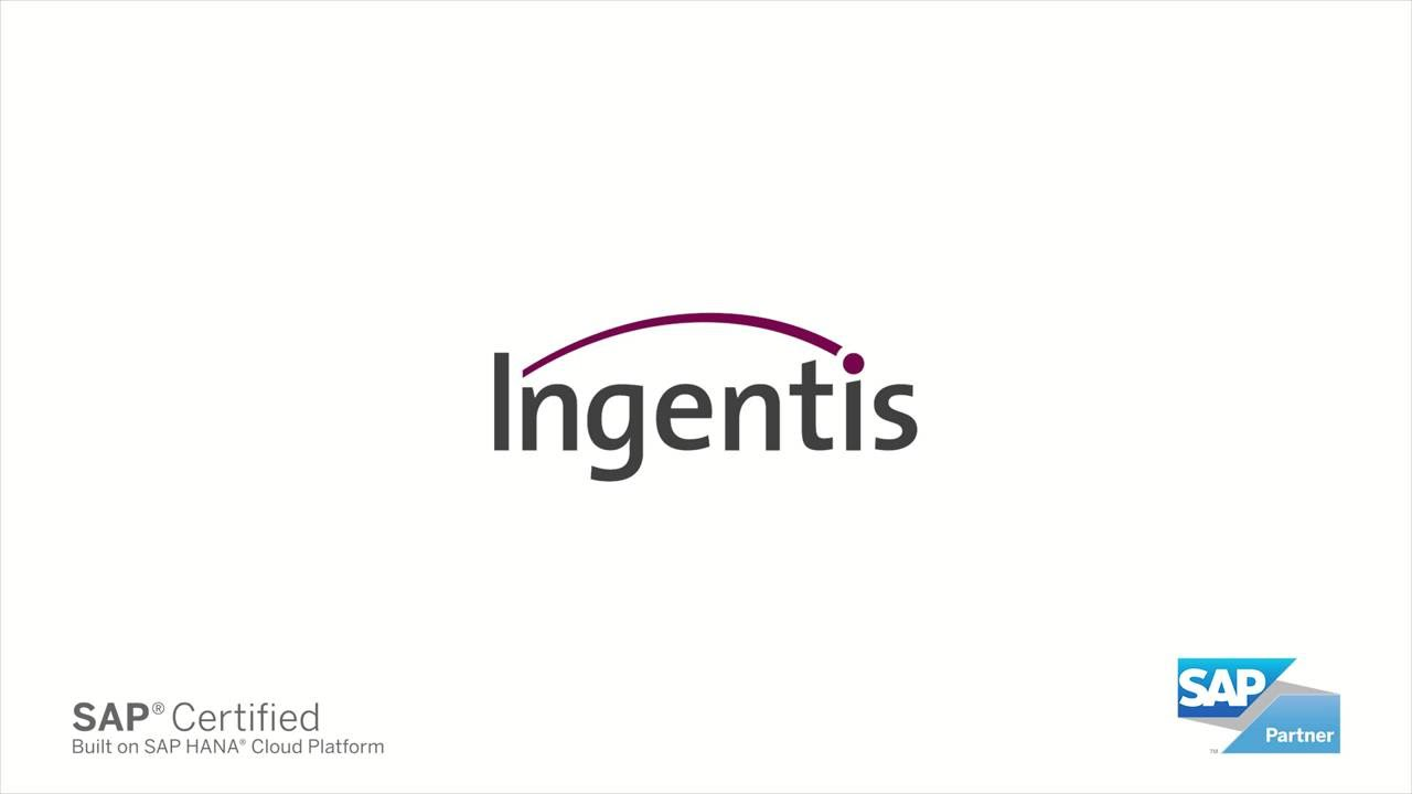 Ingentis org.manager web for SF SAP HANA Cloud Platform