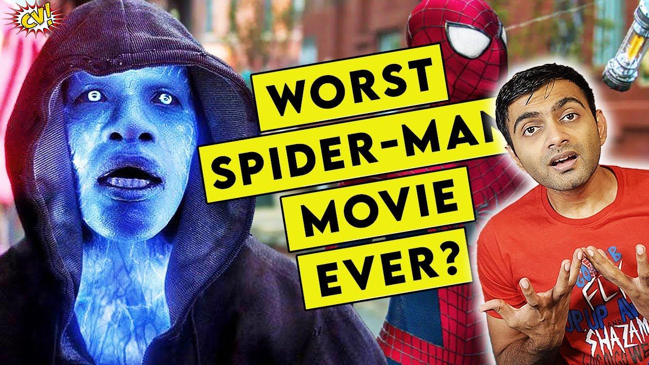 Amazing Spider-Man 2 - WORST Spider-Man Movie Ever? || ComicVerse